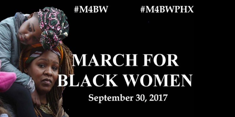 March for Black Women PHX, Sept 30