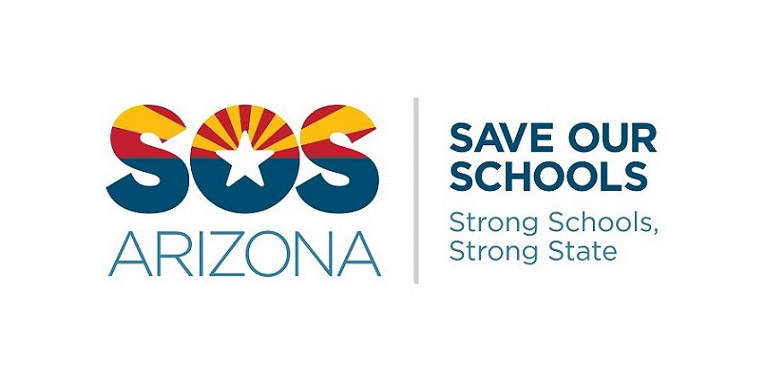 save our schools AZ logo
