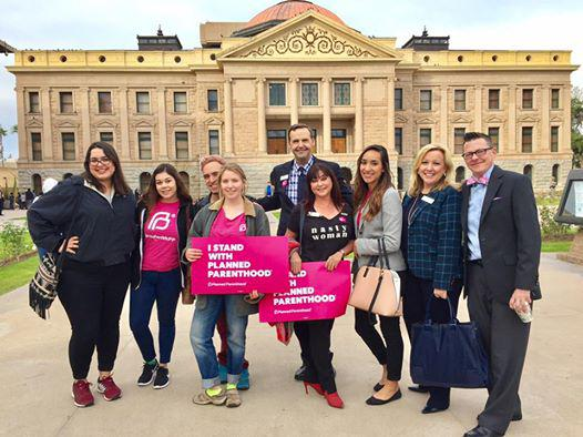 Support Planned Parenthood Advocates of Arizona on Opening Day